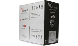 cabo-de-rede-cat6-essential-cinza-nexans-caixa