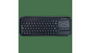 teclado-com-touch-wireless-k400-frente
