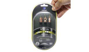 Cabo-P2-para-2-RCA-Stereo-Gold-Series-DMD-GS-3035-150-Metros-