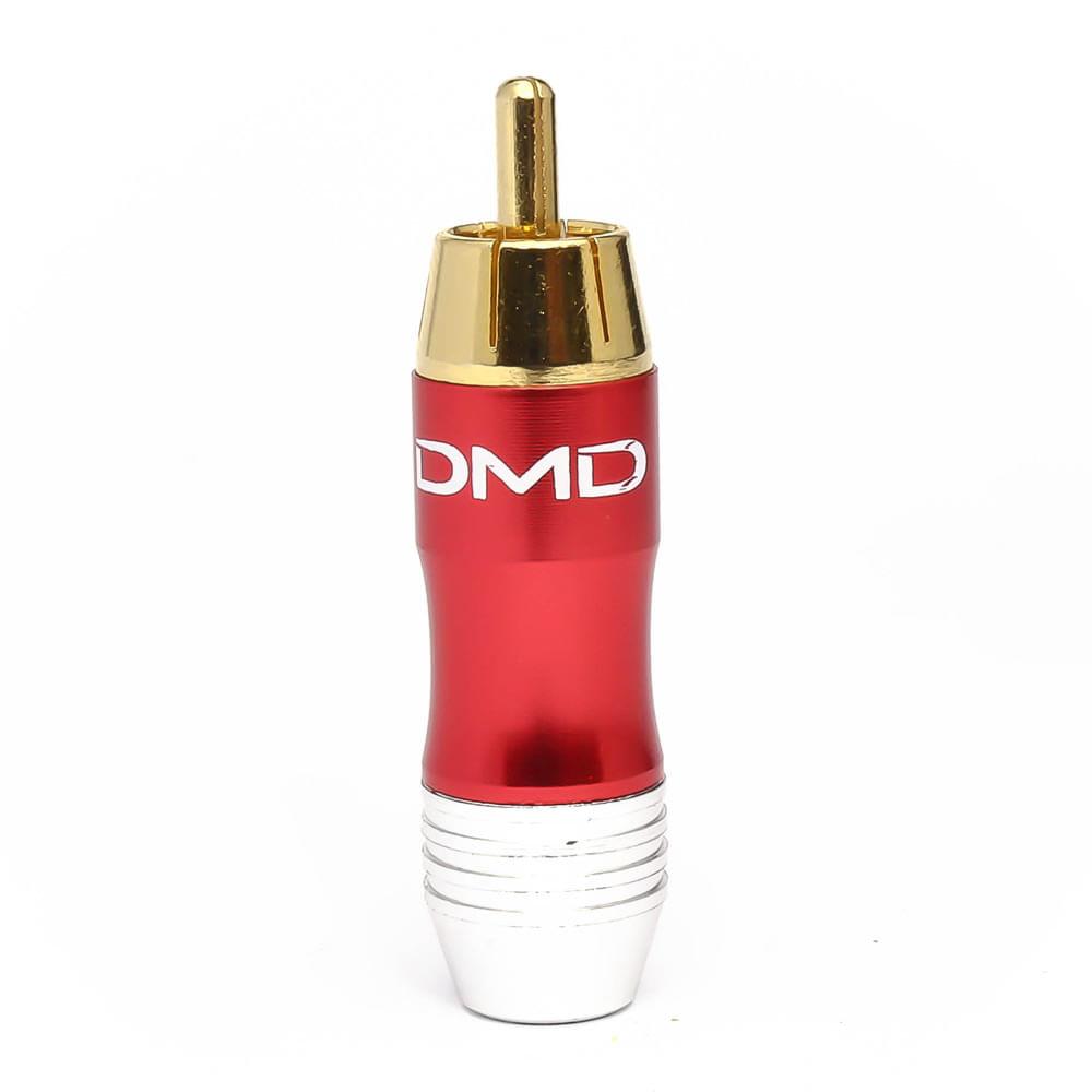 plug-rca-macho-aluminio-jc-2000-vermelho-frente
