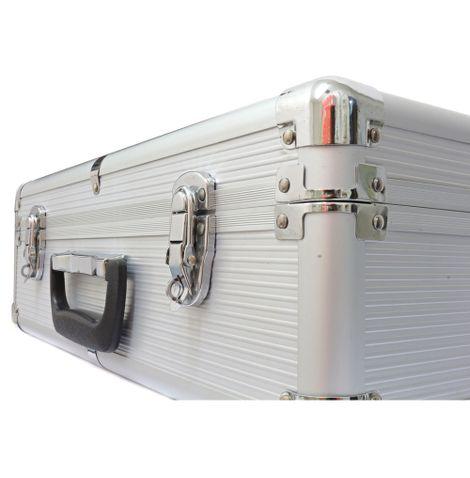 Maleta-para-Ferramentas-em-Aluminio-Pequena-Prata-frente