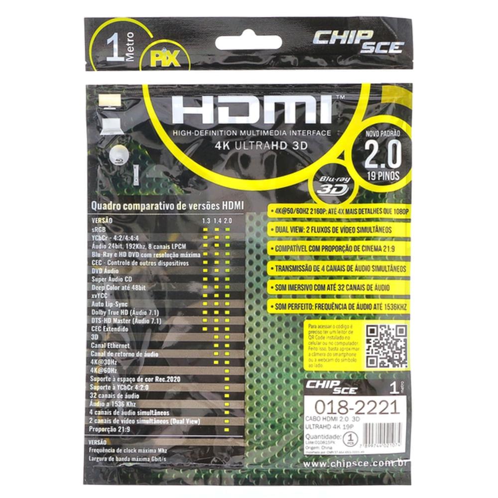 Cabo-HDMI-2.0-19-Pinos-4K-3D-1-Metro-traseira