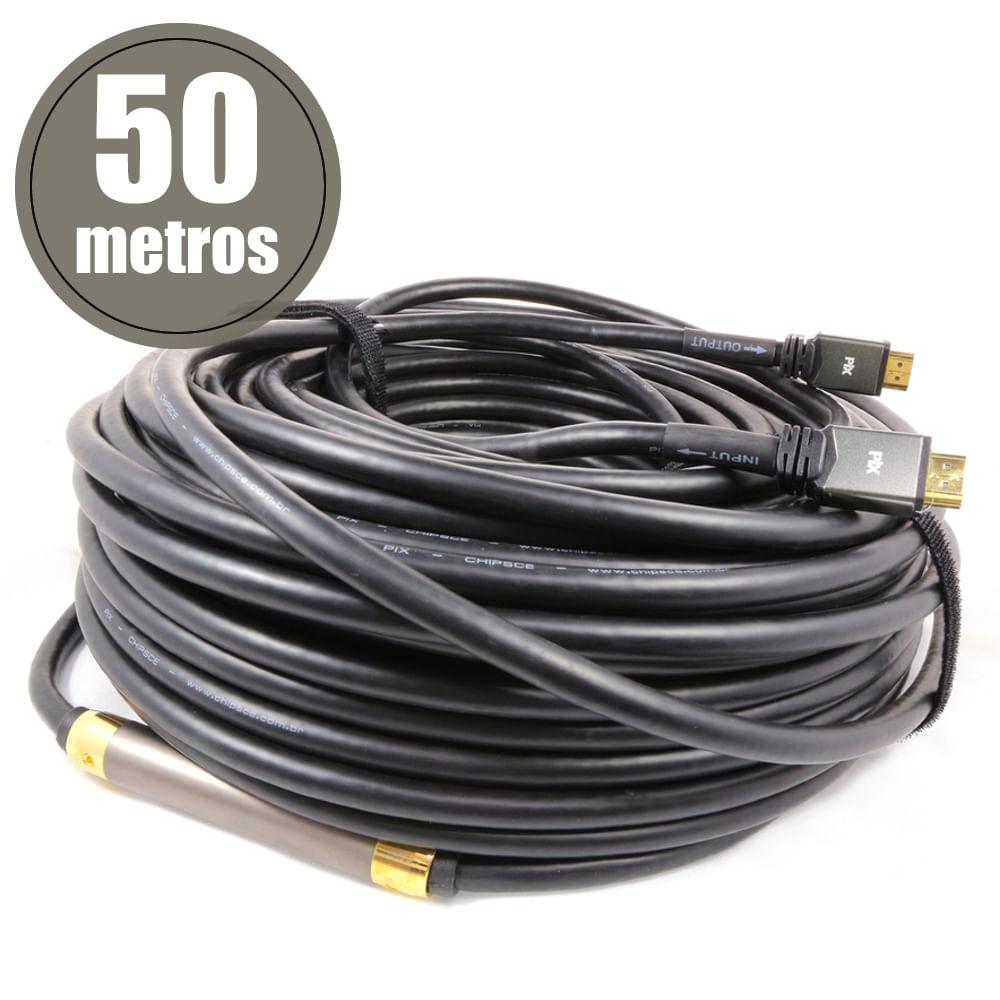 cabo-hdmi-2-0-premium-ultrahd-com-amplificador-50-metros-frente