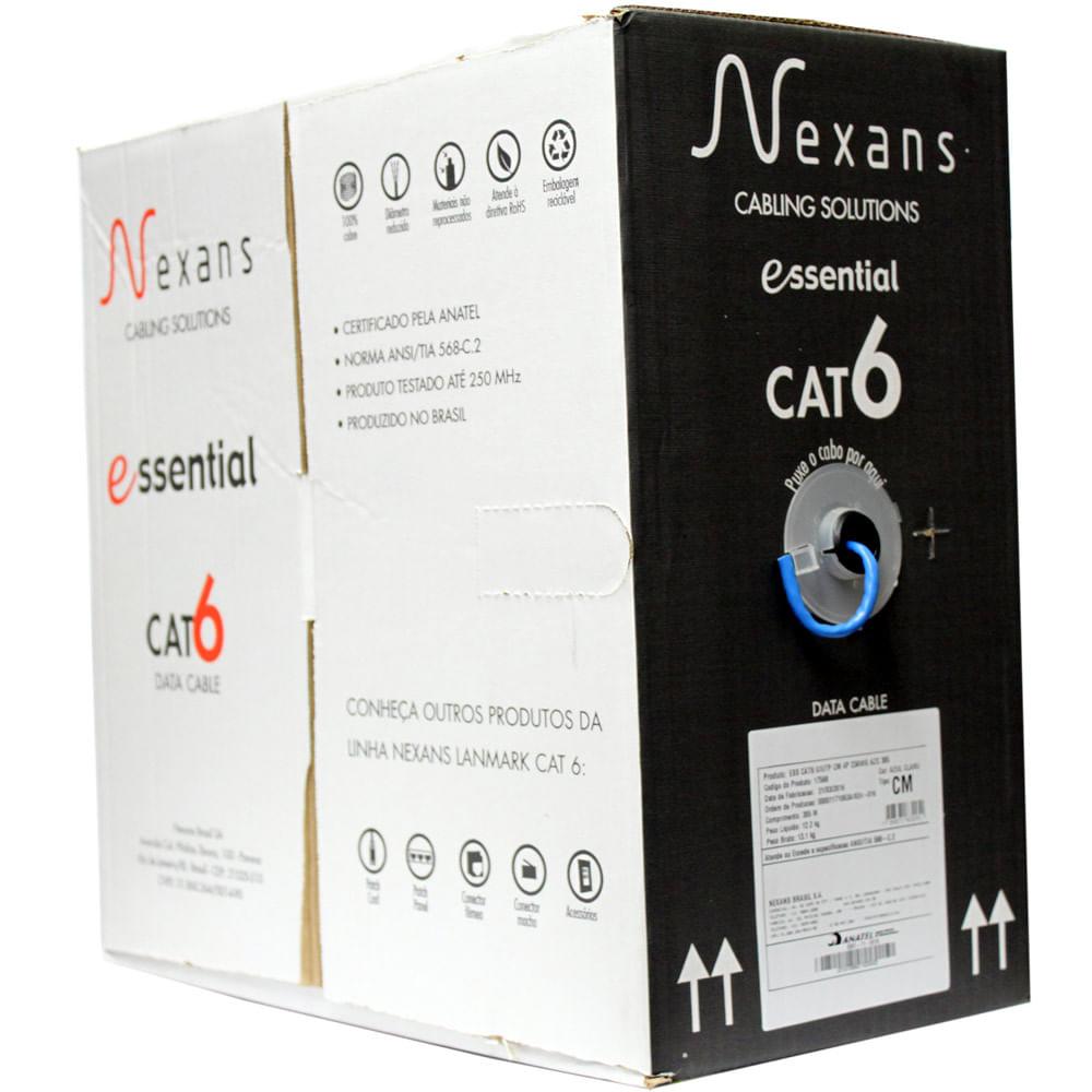 cabo-de-rede-cat6-essential-azul-nexans-caixa