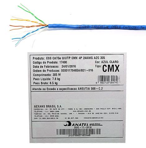 cabo-de-rede-cat5e-essential-nexans-cabo