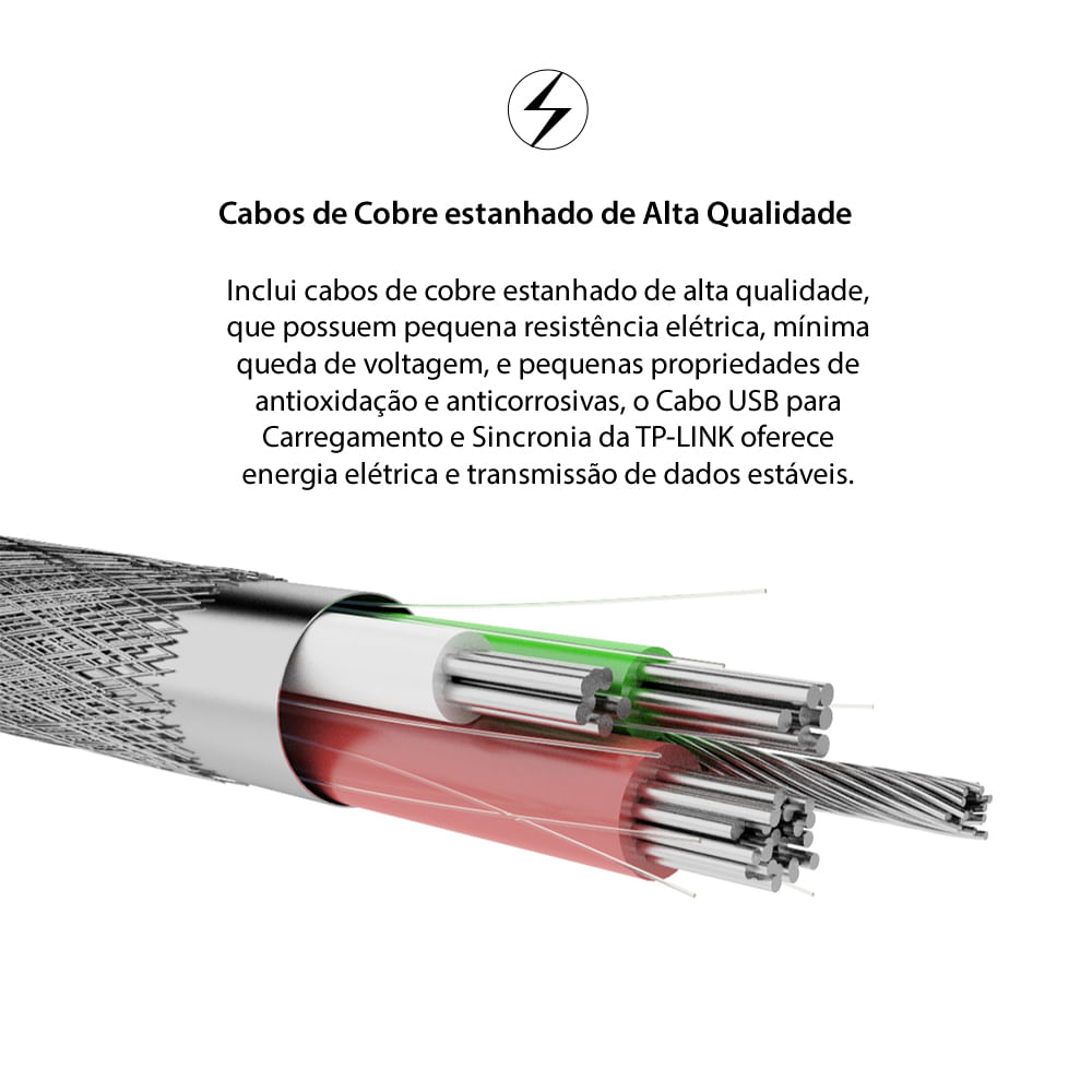 cabo-usb-para-carregamento-e-sincronia-tl-ac210-cabo