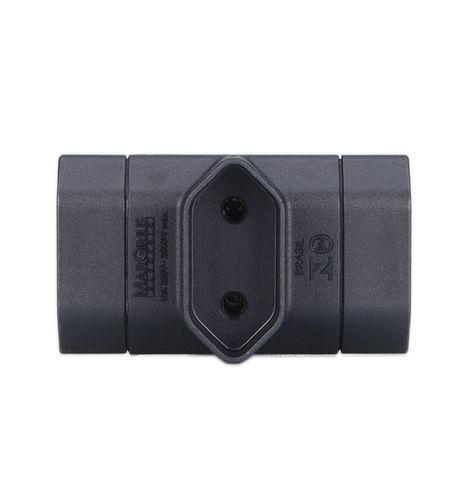 adaptador-benjamim-2p-10a-adp1-21-frente