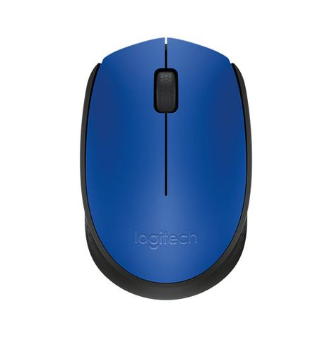 mouse-optico-usb-wireless-m170-azul-frente