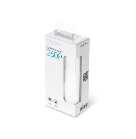 carregador-portatil-de-2600mah-tl-pb2600-frente