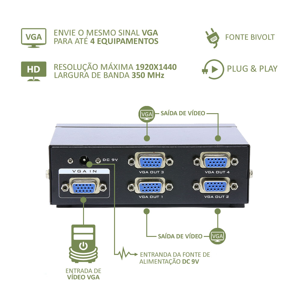 video-splitter-vga-com-4-portas-mtv-204-frente
