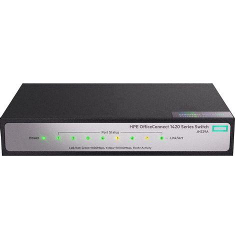 switch-gigabit-8-portas-jh329a-lado