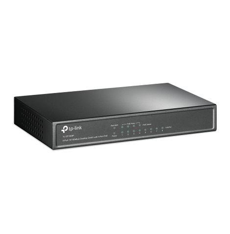 switch-ethernet-8-portas-tl-sf1008p-frente