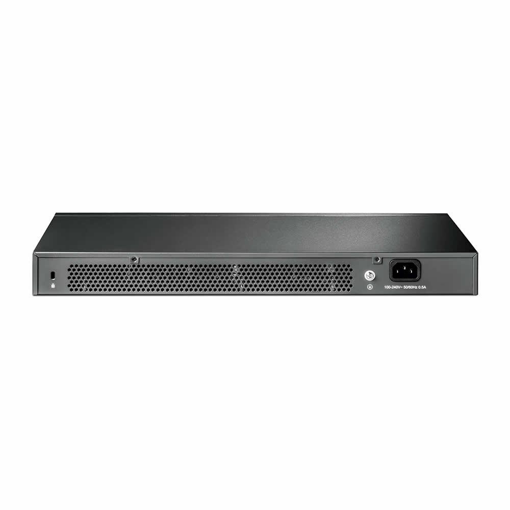 switch-gigabit-smart-24-portas-com-4-sfp-tl-sg242-traseira