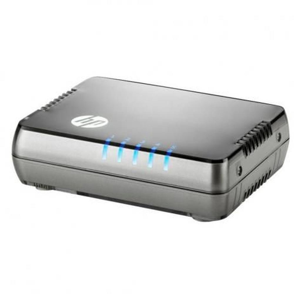 switch-gigabit-5-portas-jh407a-lado