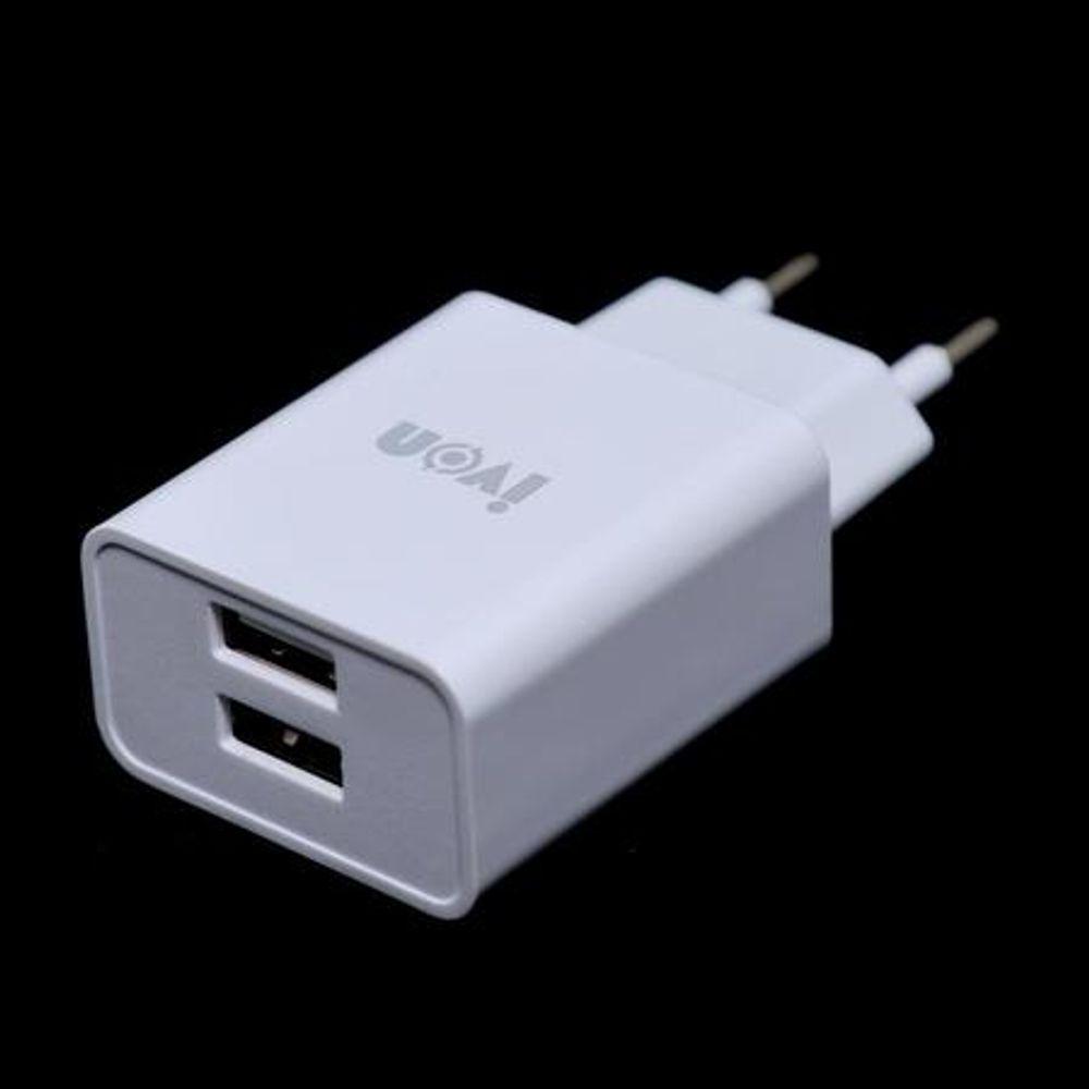 Carregador Tomada 2P 2.1A 2 USB