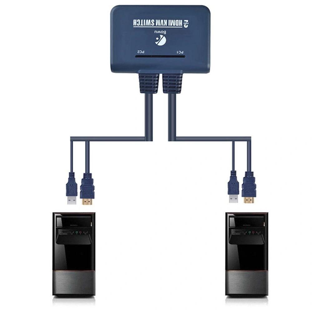 Chaveador kvm HDMI Usb 2 Portas