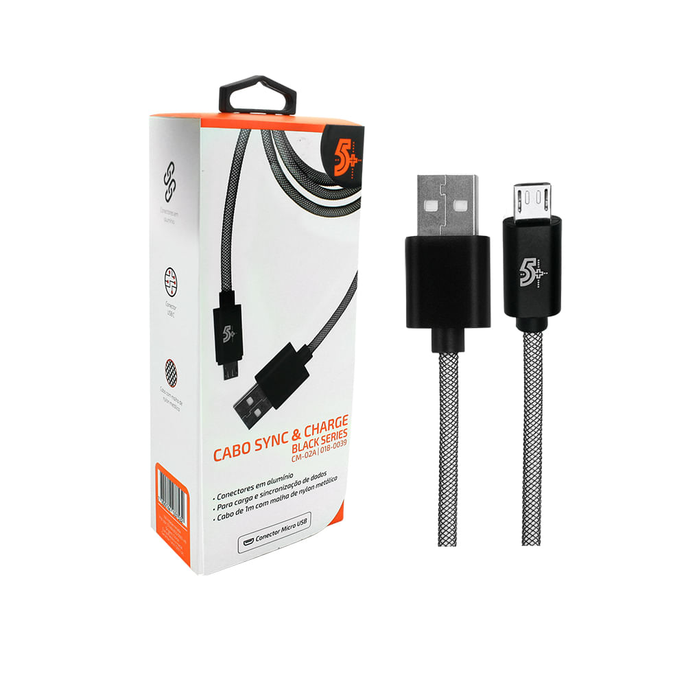 Cabo USB Black Series