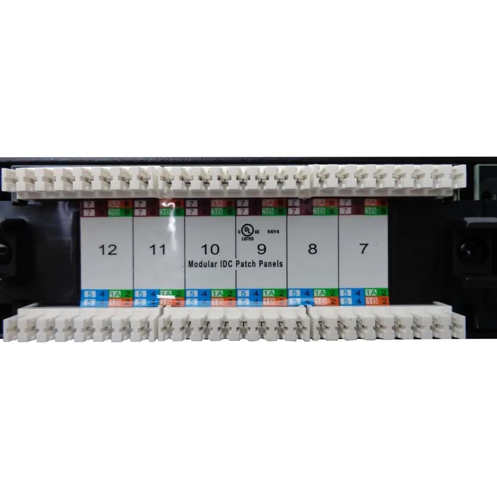 Patch Panel Gigabit Cat6 24 Portas Rj45 Nexans