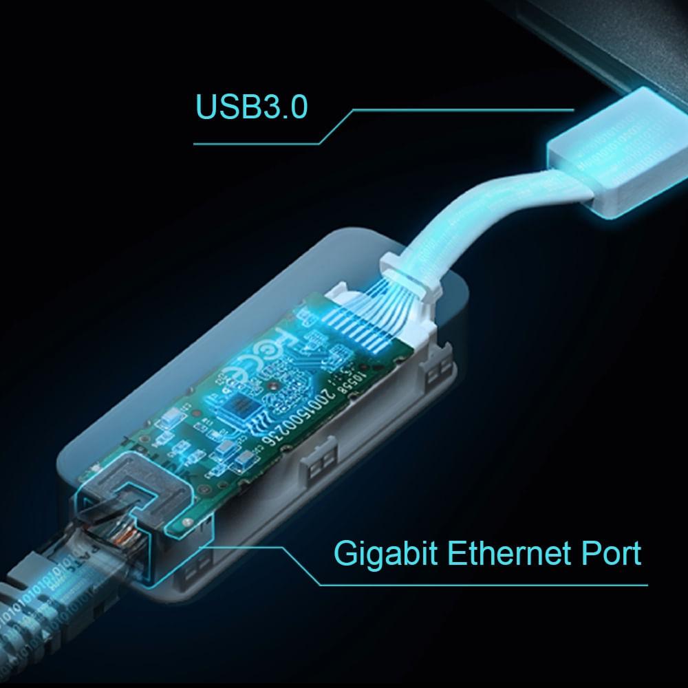 Adaptador de Rede Ethernet Gigabit USB 3.0 UE300 - 5846