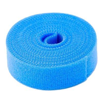 Rolo de Velcro Azul de 3 Metros