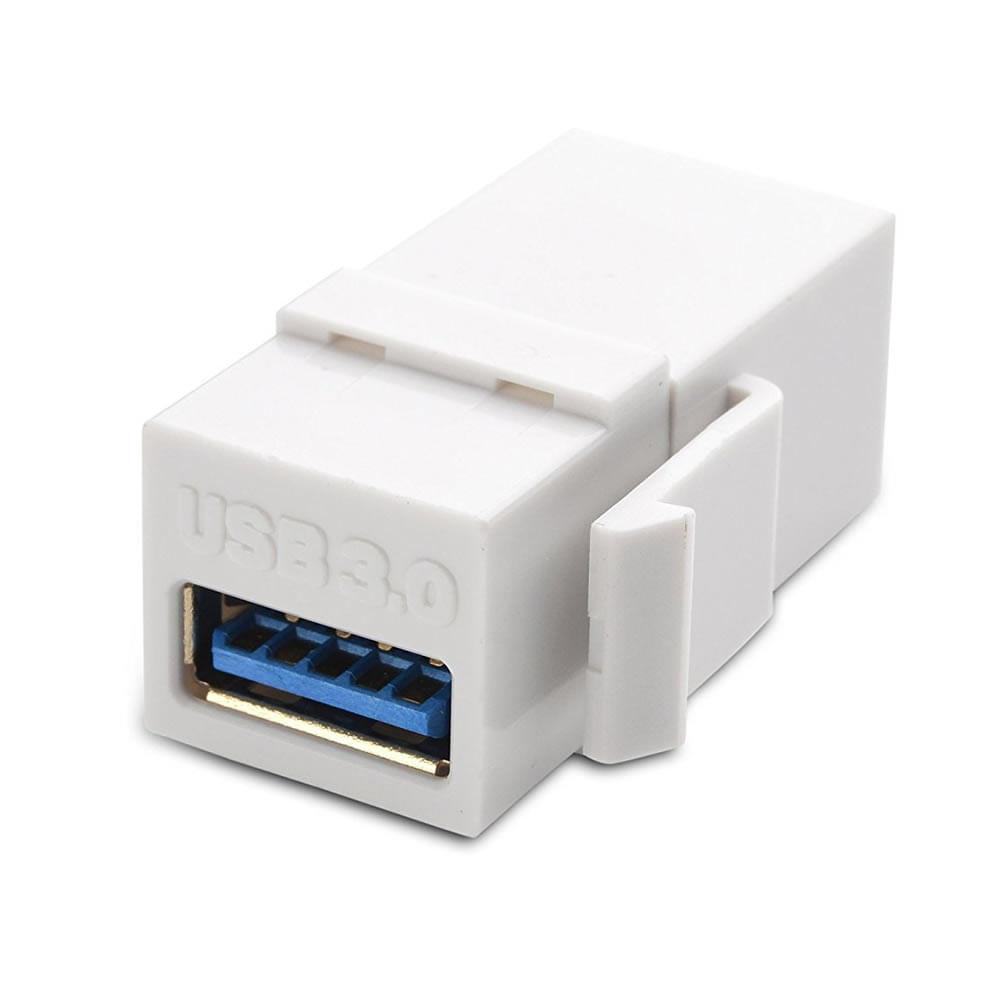 Keystone USB 3.0 Branco
