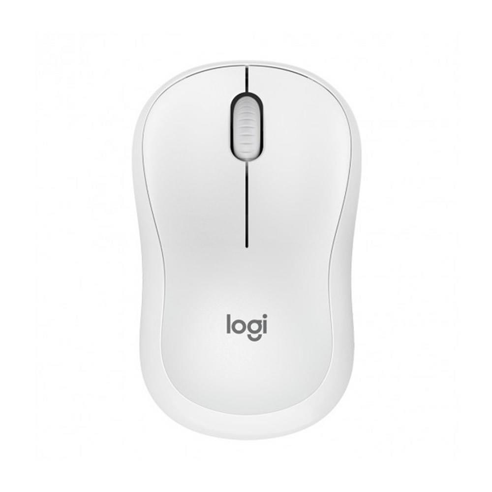 Mouse Sem Fio USB Clique Silencioso M220 Logitech Branco - 7062