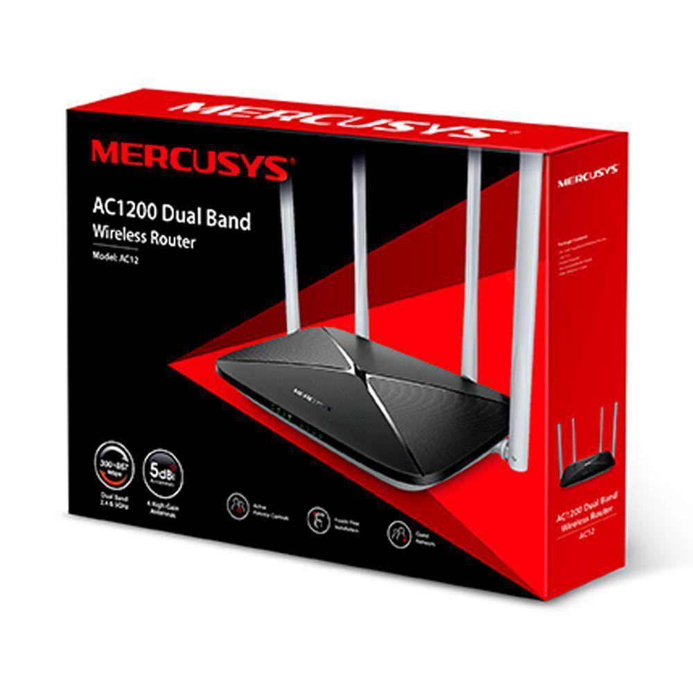Roteador Wireless Gigabit Dual Band AC1200 AC12G - 6631